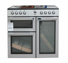 FLAVEL 90 cm Electric Range Cooker MLN9CRS Silver 2 Oven #2341