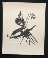 Hyun-Sook Song, Kwang ju, Mai 1980, Lithographie, 1982, handsigniert