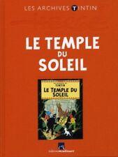 Hergé – Archives Tintin – Le Temple du Soleil