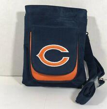 NFL Travel Hipster Crossbody Bag Licensed CHICAGO BEARS Embroidered Logo