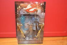 2009 Matty Collector Mattel GHOSTBUSTERS Action Figure RAY STANTZ w/ BLUE SUBWAY