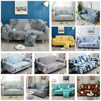 Sofa Cover Furniture Washable Stretch Elastic Fabric Sectional Couch Slipcover