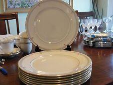 "LENOX GRAMERCY 8 DINNER PLATES 10 3/4"""