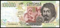 Repubblica Italiana - 100.000 / 100000 Lire Caravaggio II tipo 1995