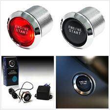 Red LED Light Car SUV Keyless Engine Start Switch Ignition Starter Push Button