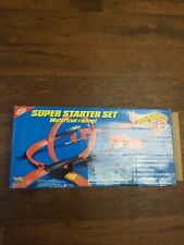 1997 Hot Wheels Super Starter Set Trak Used Incomplete (No Batteries or Cars)