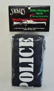 Sack-Ups Rifle / Shotgun - Police - Black -  #941