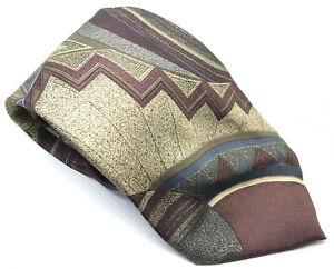 """Antonio Ricci Men's Tie Vintage Abstract 100% Silk 3.75"""" Width 61"""" Length"""