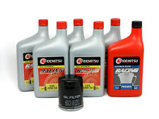 Mazda RX7 Oil Change Kit with Idemitsu 20-50, Filter, + Pre-mix -- FD3S, FC3S