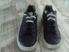 Reebok mens shoes size 9.5 purple grey flaw pictured