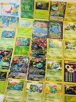10 Pokémon Venusaur Card Lot W/ Bulbasaur & Ivysaur Evolutions + Holos & WOTC