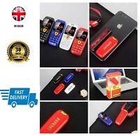 World Smallest Mini Tiny Plastic Ferrari Dialler Boss Fob Phone Unlocked DualSim