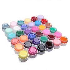 12 Random Farbe Nail Art UV Gel Set Farbgel Effekt Gele Nagel Design Fingernägel