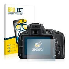2x Brotect Film protection pour Nikon D5600 Protecteur Ecran