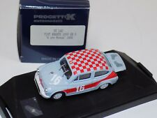 1/43 Progetto K Automodelli Fiat Abarth 1000 GR5 1968 Monza Car #16 142