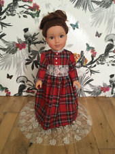 Luxury Tartan Victorian American Girl Our Generation Dress 18 Inch Doll Clothes