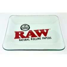RAW Limited Edition Glass Rolling Tray - UK Seller