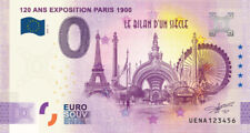Billet 0 Euro - FR 120 ans Exposition Paris 1900 - 2020-4 - anniversary
