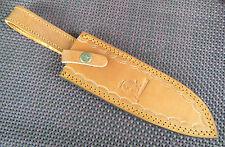 Jagdmesser Lederscheide Messertasche Echt Leder Küchenmesser Messerscheide Neu