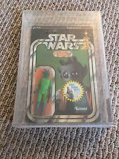 Star Wars Vintage 1978 Greedo 20 Back D Figure AFA MOC RARE Boba Fett Offer