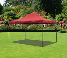 10x15  Canopy Fair Shelter Car Shelter Wedding Pop Up Tent Heavy Duty Steel