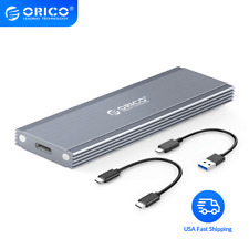 ORICO Nvme NGFF M.2 SSD Case 10Gbps USB C Hard Drive Enclosure With Type-C Cable