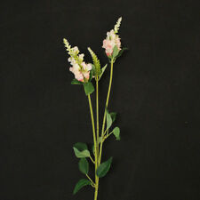 Fleurs artificielles et séchées de décoration intérieure en tissu pour jardin
