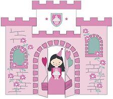 Glückwunschkarte*Geburtstag Kinder*Prinzessin*Schloß*Karte zum Aufklappen*Girl