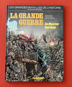 The Grandes Battles Bands Comics Large Guerre Marl Larousse Good Condition