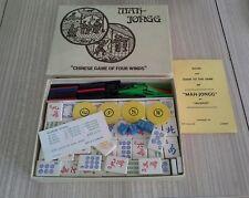 Vintage Mah-Jongg por piezas de juego de madera Jackpot