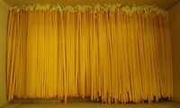 "8"" Orthodox Beeswax Candles for Church use or praying 950grms 20.5cm"