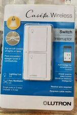 Lutron  PD-5ANS-WH-R Wireless Smart Lighting Switch - White