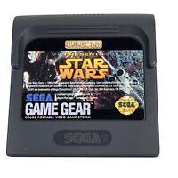 Star Wars (Sega Game Gear, 1993) Cartridge Only Tested Works