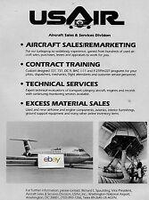 USAIR 1985 AIRCRAFT SALES & SERVICE DIVISION WASHINGTON DC NATIONAL BAC 1-11 AD