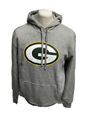 Green Bay Packers Hoodie NFL Football New Era Team Hoody Grau Gr.L Neu