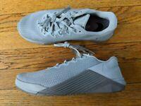 Nike Metcon 5 Men's 7 AQ1189-010 Gunsmoke Grey Squat Training