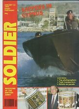 Soldier Magazine of the British Army Jan 13th 1992 Tank Transports Cyprus +