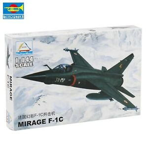 1/144 Trumpeter MiniHobby France Mirage f-1c Aircraft Modesl Military Plane Toy