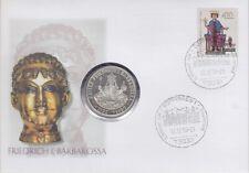 BRD Numisbrief 10 DM Barbarossa 1996
