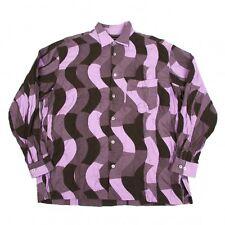 ISSEY MIYAKE MEN  Wavy patchwork Shirt Size 3(K-44101)
