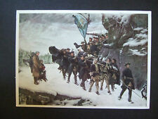 MILITARY POSTCARD-BRINGING HOME THE DEAD KING CHARLES XI