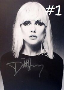 """Debbie Harry 5x7 Signed Autograph Reprint """"Mint"""" {Choose 1 of 2} FREE SHIPPING"""