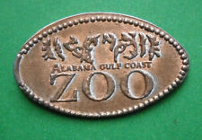 Alabama Gulf Coast Zoo elongated penny Gulf Shores AL USA cent souvenir coin