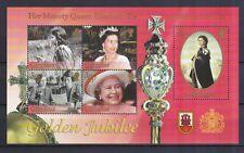 Gibraltar 2002 postfrisch MNr. Block 49  Thronbesteigung Königin Elisabeth II.