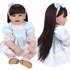 Reborn Baby Girl Princess Realistic Toddler Doll Handmade Lifelike Gift Toy Real