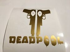 Deadpool armas, Coche Decal/Adhesivo para Windows, Parachoques, Paneles