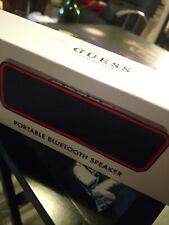 NIB Guess? Jeans Los Angeles Wireless Portable Bluetooth Speaker Audio Bass USB