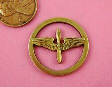 Circular Winged Motif-1 Pc(s) Vint Design Ant Brass