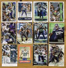 Earl Thomas - 12 card lot - Topps, Gridiron Gear RC, Prime, Prestige Seahawks