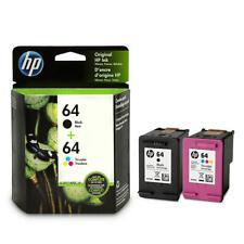 HP 64 X4D92AN Original Ink Cartridge Combo Black/Tri-color For 6255 7155 7855